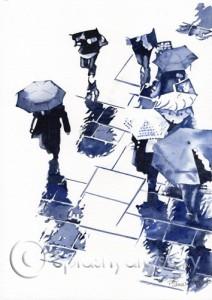 Rainy Day, Glasgow webmark